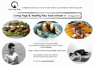 Living Yoga & Healthy Raw food retreat